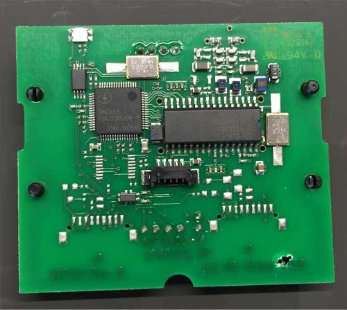 Omnikey 5121 RFID Modul Rückansicht