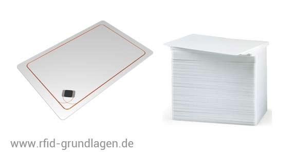 RFID Karten Aufbau