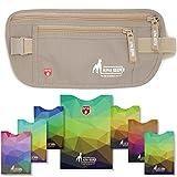 Alpha Keeper RFID Schutz Bauchtasche Damen und Sicherheits Gürteltasche Herren zum Verreisen mit RFID Schutzhüllen für den täglichen Gebrauch/neustes Modell 2019