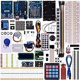 Kuman K25 neue ultimative Starter Rfid Learning Kit für Arduino Lern Anfänger, die komplette 48-Set Kits Bestandteile mit UNO-R3 LCD Servo mehr als 20 Projektoren