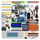 Freenove Ultimate Starter Kit mit R3 Board (Kompatibel mit Arduino), 260 Seiten Ausführliche Anleitungen, 217 Artikel, 51 Projekte, Lötfreies Steckbrett
