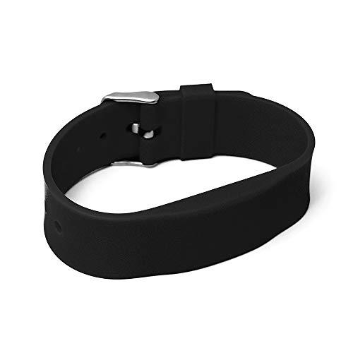 3 Stück RFID Silikon Armband SILA09a...