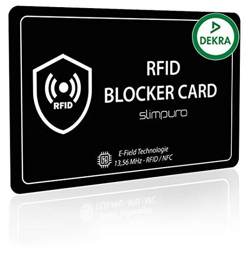 RFID Blocker Karte DEKRA Geprüft - NFC...