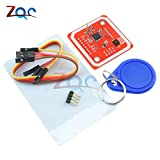 PN532 NFC RFID Wireless-Modul V3-User-Kits-Reader-Modus IC S50 Card PCB Attenna I2C IIC SPI HSU für Arduino