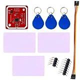 Youmile PN532 NFC RFID-Modul V3 Kits Reader Writer Feldkommunikation zum Smartphone Android Wireless-Modus IC S50-Karte PCB Attenna I2C IIC SPI HSU für Arduino