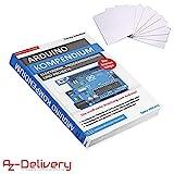 AZDelivery ⭐⭐⭐⭐⭐ Großes Arduino Kompendium Buch mit gratis RFID Karten
