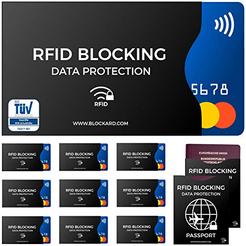 TÜV geprüfte RFID Blocking NFC...