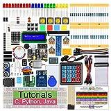 Freenove RFID Starter Kit für Raspberry Pi 4 B 3 B+, 423 Seiten Ausführliche Anleitungen, Python C Java, 204 Elemente, 53 Projekte, Lernen Sie Elektronik und Programmierung, Lötfreies Steckbrett