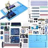 UNIROI Ultimate Starter Kit Kompatibel mit Arduino IDE 328P Steuerplatine, 260 Seiten Detaillierte Tutorial, 217 Artikel, 51 Projekte, Steckplatine mit Arduino IDE Starter Kit