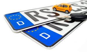 RFID in Autokennzeichen - eine Hilfe bei Fahrverboten?